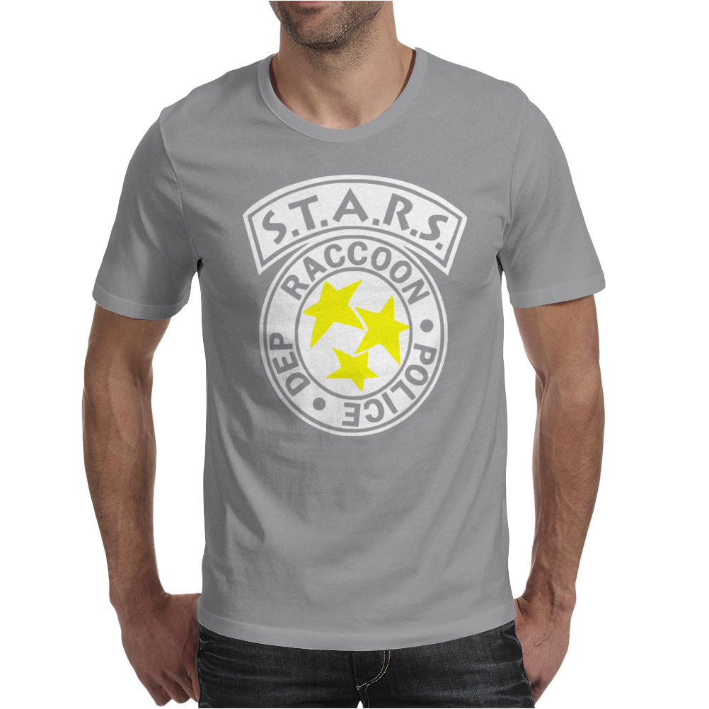 Raccoon Police Mens T-Shirt