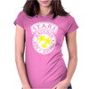 Raccoon Police Womens Fitted T-Shirt