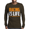 Racing Is Life Steve Mcqueen Mens Long Sleeve T-Shirt