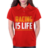 Racing Is Life Steve Mcqueen Womens Polo