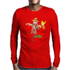 Rad Bird Mens Long Sleeve T-Shirt