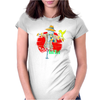 Rad Bird Womens Fitted T-Shirt