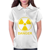 Radiation Symbol Womens Polo