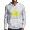 Radioactive Laboratory Hazard Warning Symbol Mens Hoodie