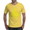 Radioactive Laboratory Hazard Warning Symbol Mens T-Shirt