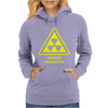 Radioactive Laboratory Hazard Warning Symbol Womens Hoodie