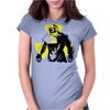 Radioactive Mask Womens Fitted T-Shirt