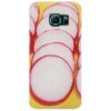 Radishes and yellow background Phone Case