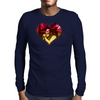 Raggae Love Mens Long Sleeve T-Shirt
