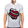 Ragile Handle With Care Mens Polo