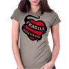 Ragile Handle With Care Womens Fitted T-Shirt