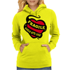 Ragile Handle With Care Womens Hoodie