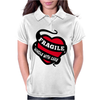 Ragile Handle With Care Womens Polo