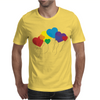 Rainbow balloons Mens T-Shirt