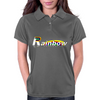 Rainbow Behind Womens Polo