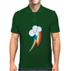 Rainbow Dash Cutie Mens Polo