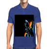 Rainbow Dash Derp! Mens Polo