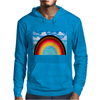 Rainbow in the Sky Mens Hoodie