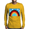 Rainbow in the Sky Mens Long Sleeve T-Shirt