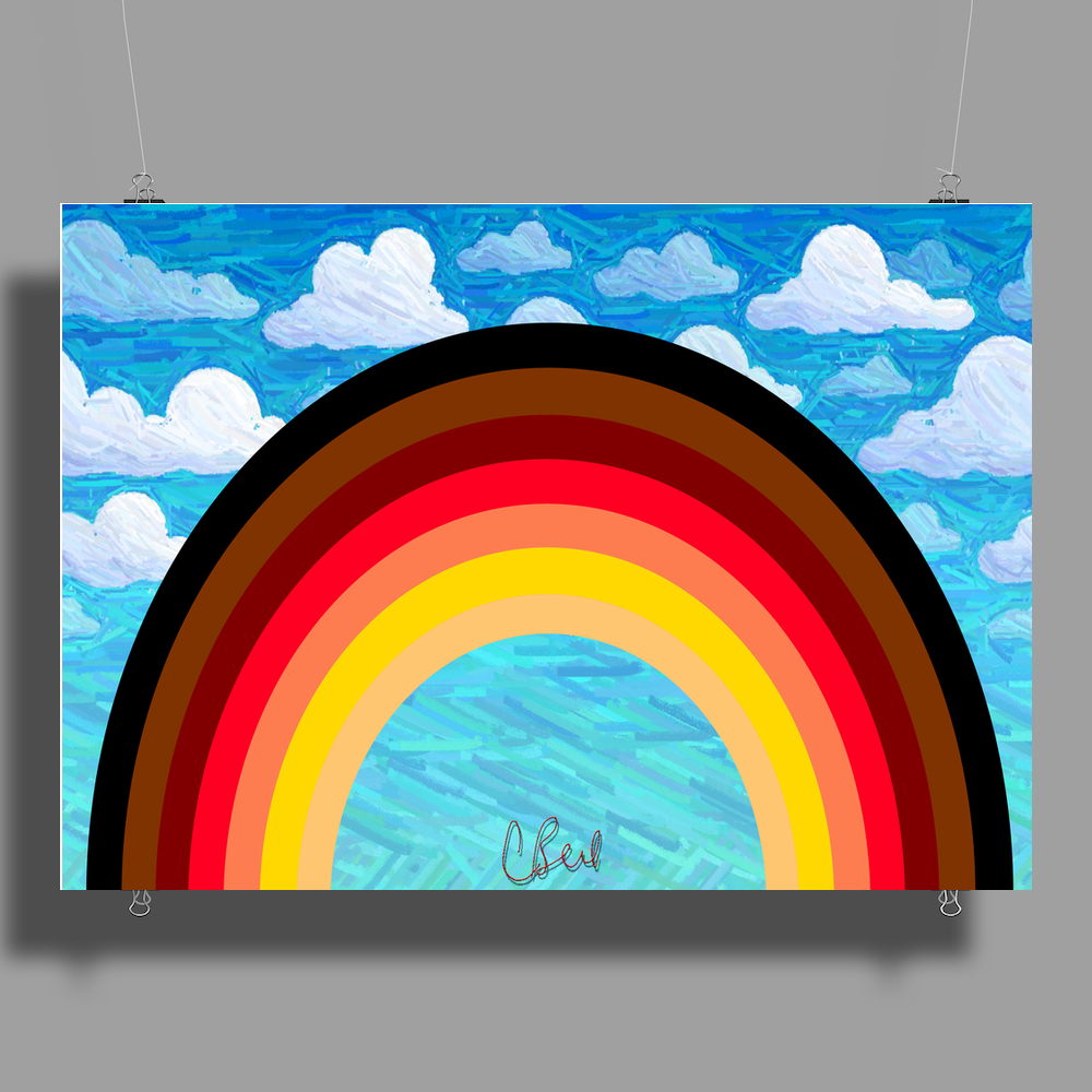 Rainbow in the Sky Poster Print (Landscape)
