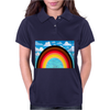 Rainbow in the Sky Womens Polo