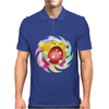 Rainbow Kirby Mens Polo