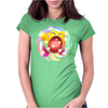 Rainbow Kirby Womens Fitted T-Shirt