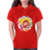 Rainbow Kirby Womens Polo