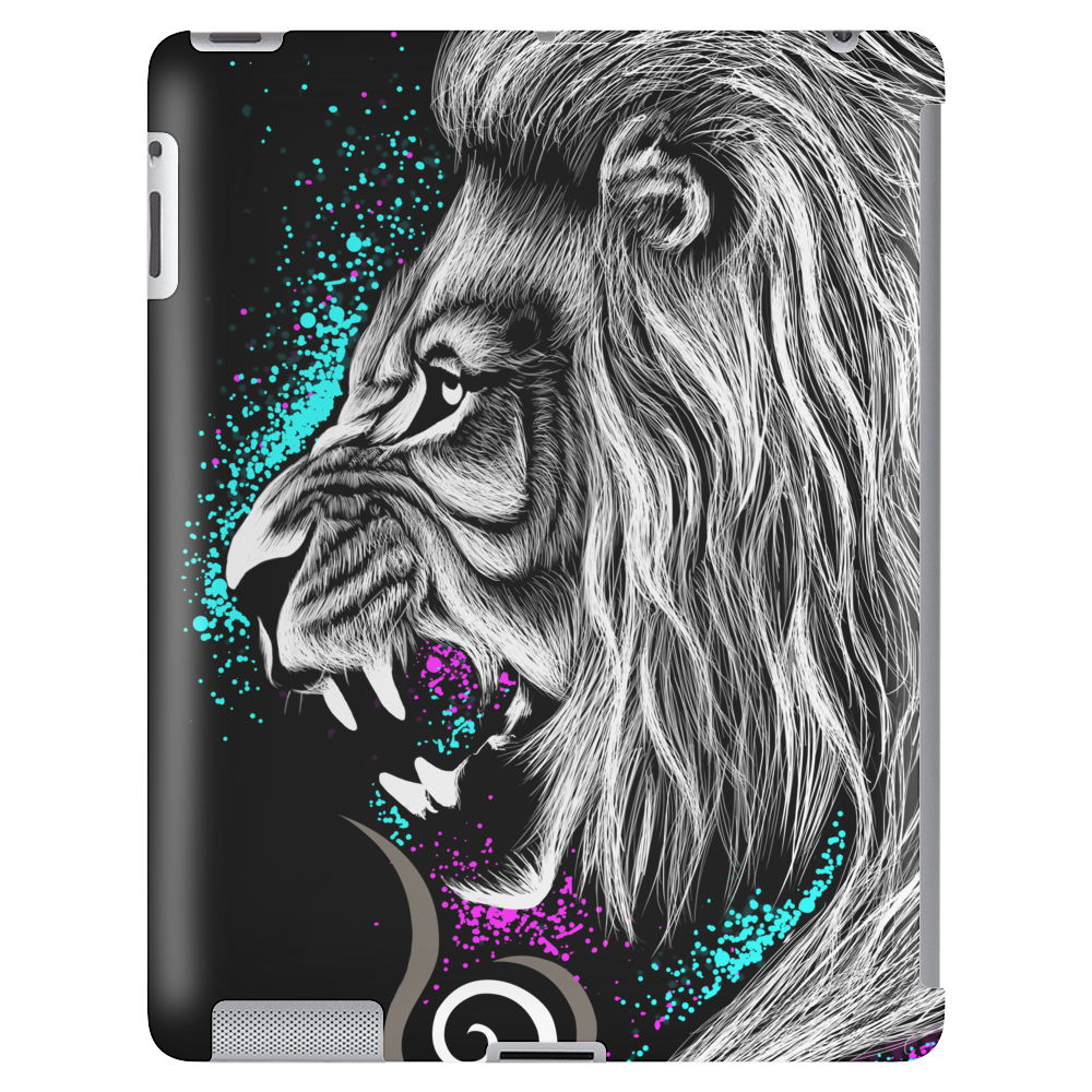 Rainbow Lion Tablet (vertical)