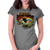 Rainbow Rising Womens Fitted T-Shirt