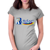 Rainbow Shadow Womens Fitted T-Shirt