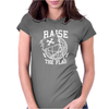 RAISE THE FLAG Womens Fitted T-Shirt