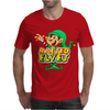 Raised By Elves Elf Christmas Mens T-Shirt