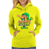 Raised By Elves Elf Christmas Womens Hoodie