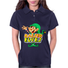 Raised By Elves Elf Christmas Womens Polo