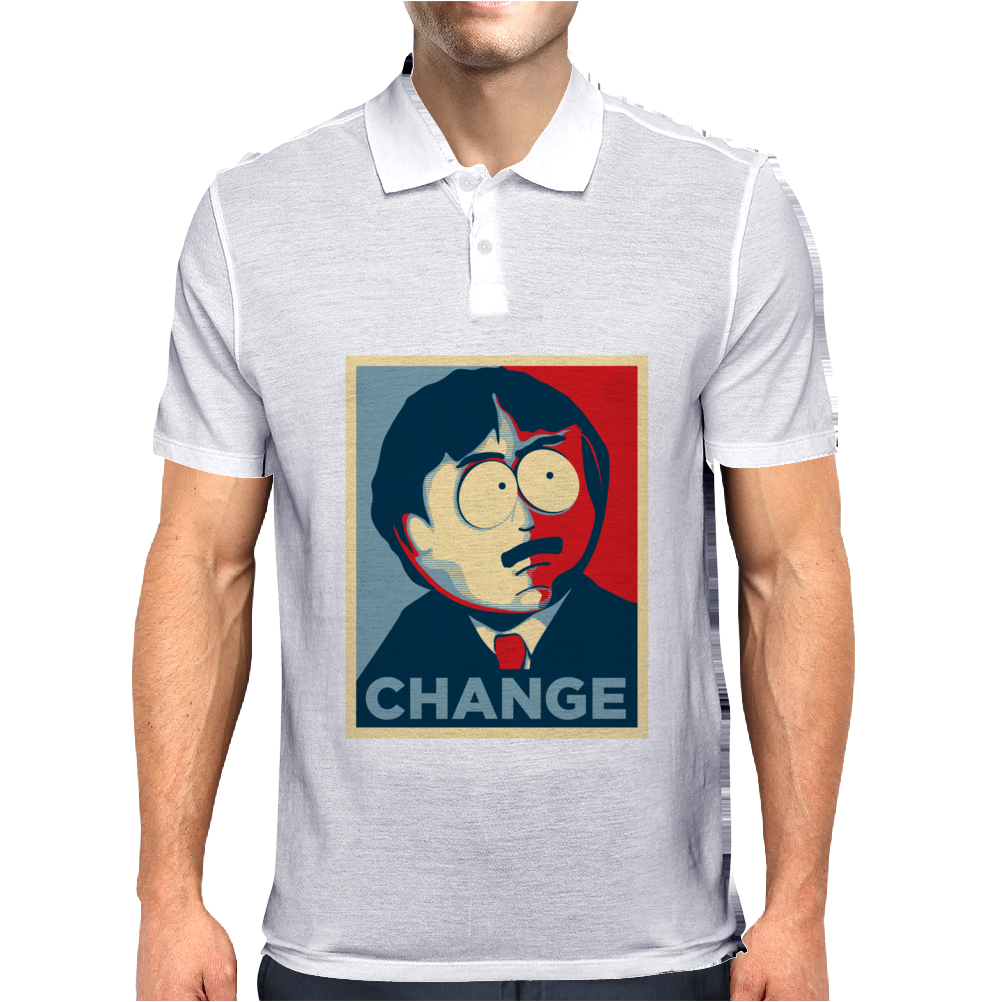 Randy Marsh Change Mens Polo
