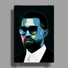Rapper K West Poster Print (Portrait)