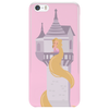 Rapunzel Letting Her Hair Down Phone Case