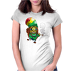 Rasta Womens Fitted T-Shirt
