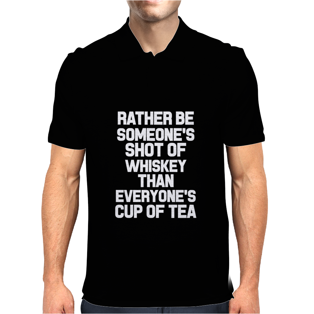 rather be someone shot Mens Polo