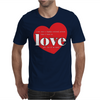 Rational Person Until Love Mens T-Shirt