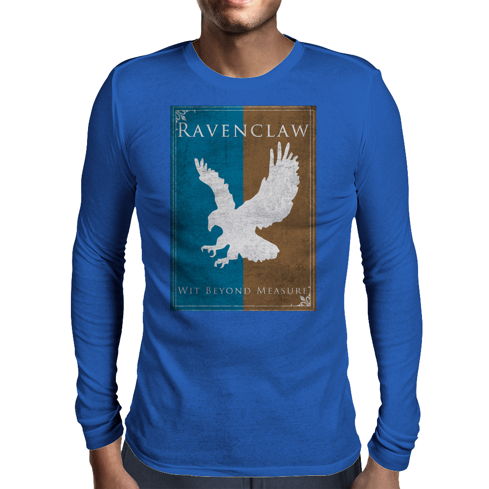 Ravenclaw Game of Thrones Banner Mens Long Sleeve T-Shirt