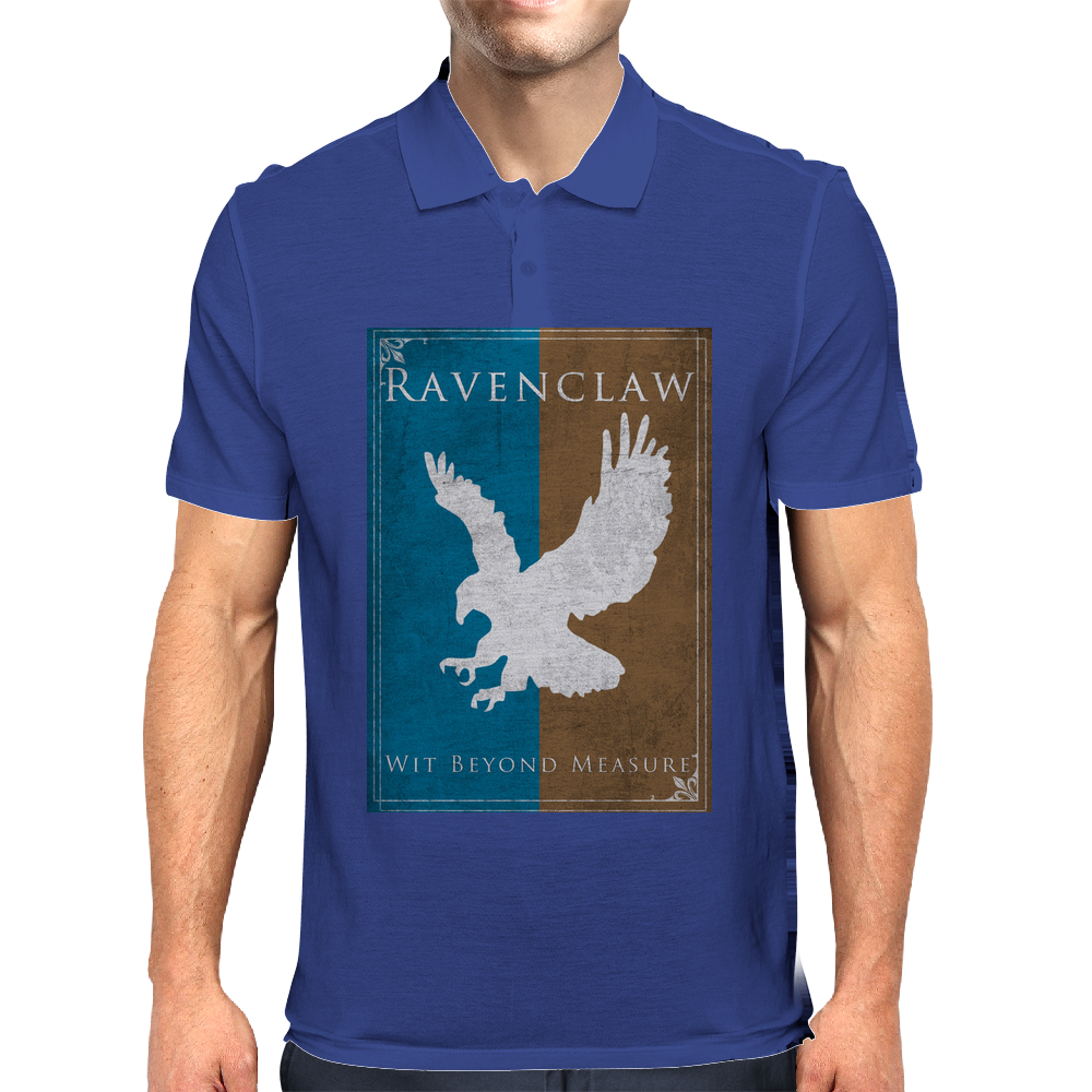 Ravenclaw Game of Thrones Banner Mens Polo