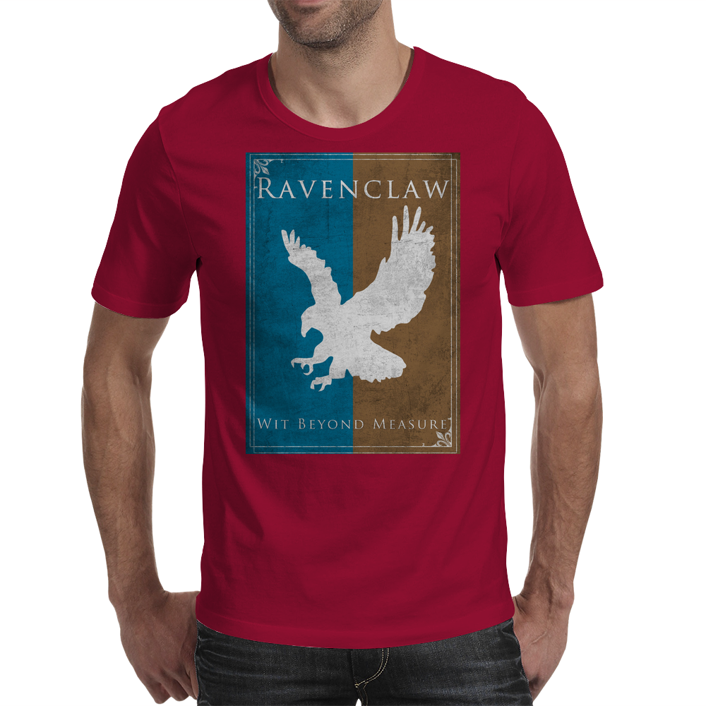 Ravenclaw Game of Thrones Banner Mens T-Shirt