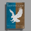 Ravenclaw Game of Thrones Banner Poster Print (Portrait)