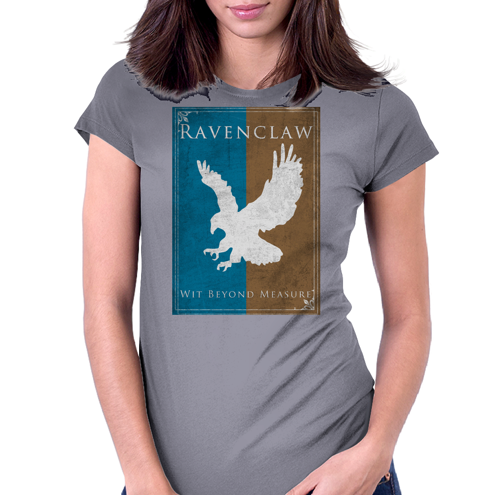 Ravenclaw Game of Thrones Banner Womens Fitted T-Shirt