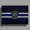 Ravenclaw Knitted Poster Print (Landscape)