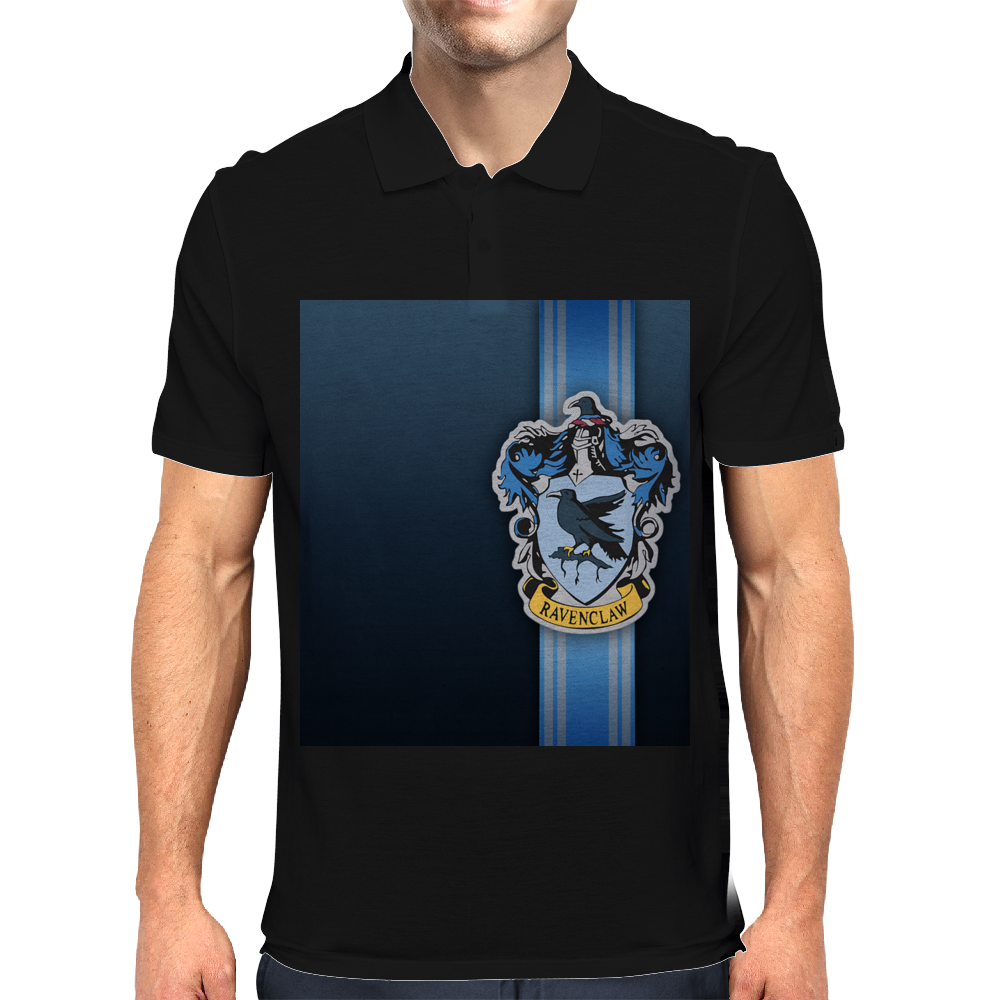 Ravenclaw Ribbon Mens Polo