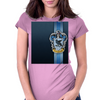 Ravenclaw Ribbon Womens Fitted T-Shirt