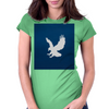 Ravenclaw Sky - Silver Womens Fitted T-Shirt